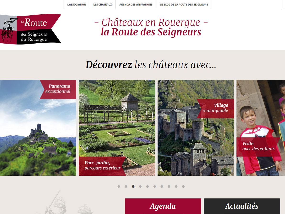 Châteaux En Rouergue